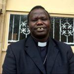 The Reverend Peter Mayen from St Lukes Toowoomba.